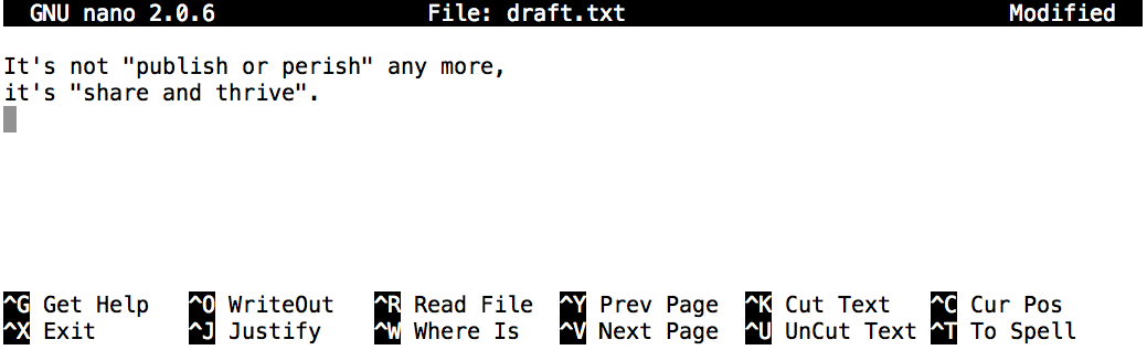 The Unix Shell: Working With Files and Directories